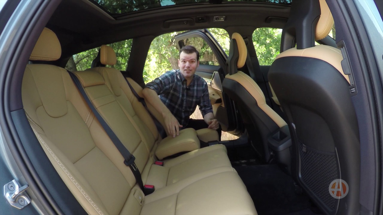 Volvo Integrated Child Booster Seats A Great Feature For Families