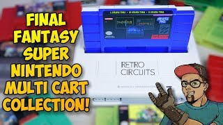 New Final Fantasy Super Nintendo Multi Cart Collection!
