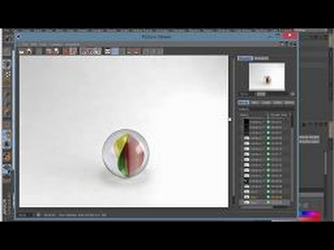 Vray Glass Material in Cinema 4D