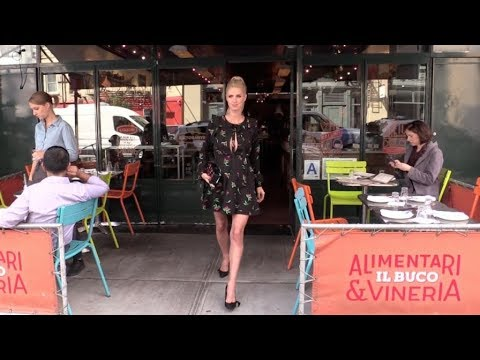 Pregnant Nicky Hilton Rothschild looking lovely while in New York for the Fashion Week