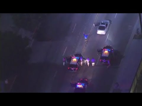 Long Beach Police Chase - August 24th 2017 - Acura Integra