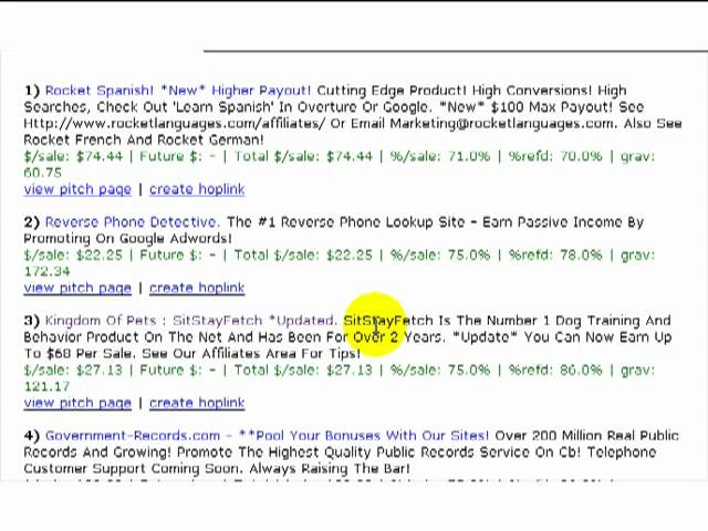 How To Find Good Products To Sell From Clickbank