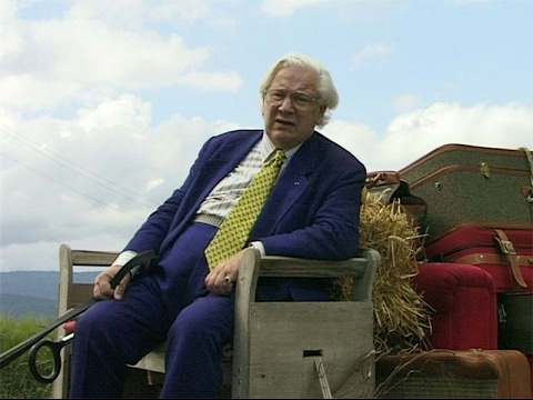 The Red Couch - Sir Peter Ustinov