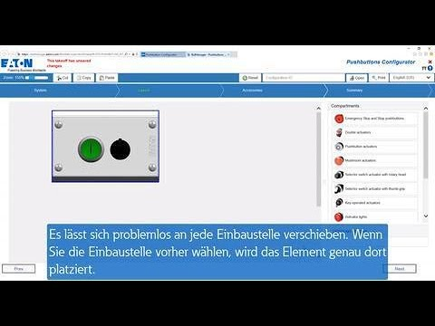Pushbutton Konfigurator Tutorial | DE  Erste Schritte