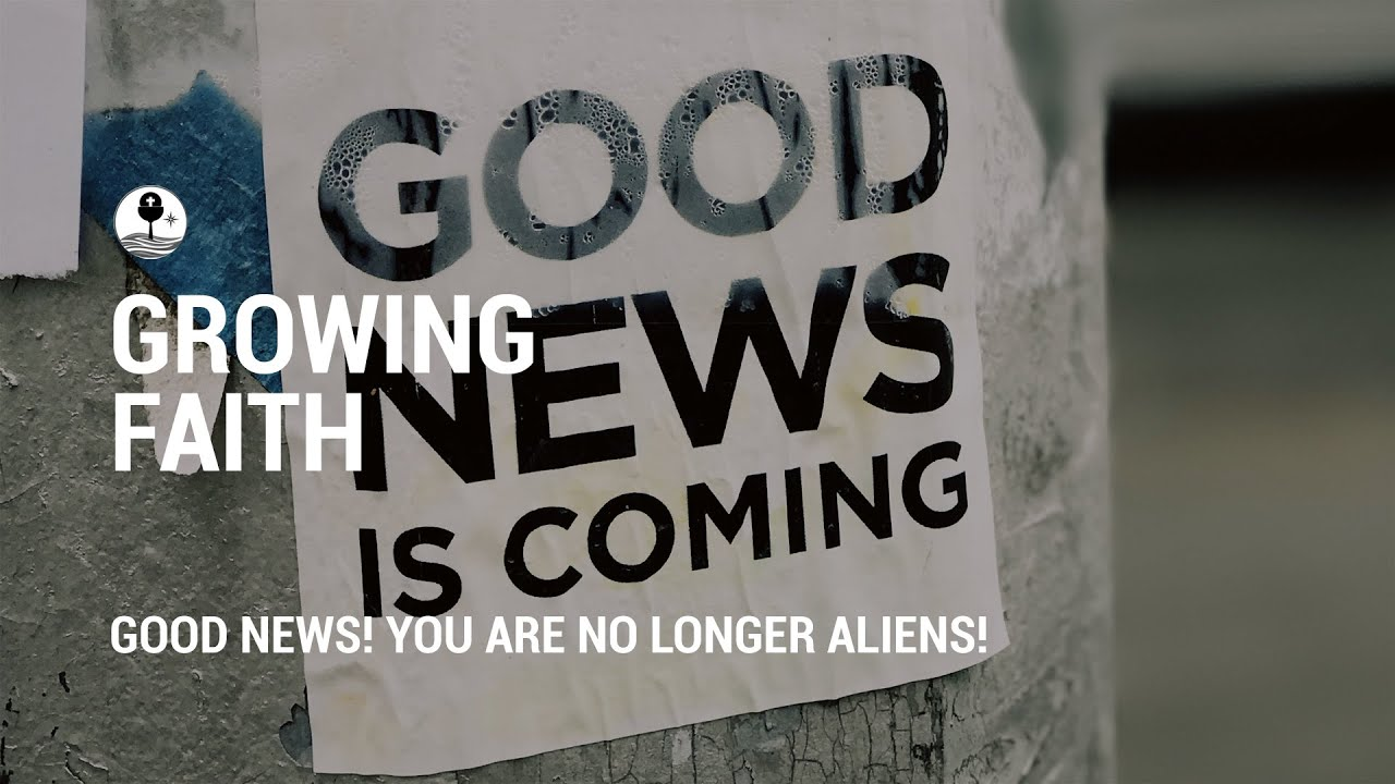 Good news! You are no longer aliens!