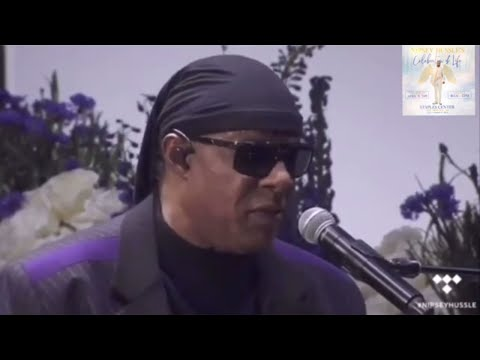 Stevie Wonder Pays Tribute to Nipsey Hussle | Homegoing Celebration Mp3
