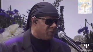 Stevie Wonder Pays Tribute to Nipsey Hussle | Homegoing Celebration