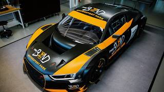 The Bend Audi R8 Nurburgring Vehicle Wrap