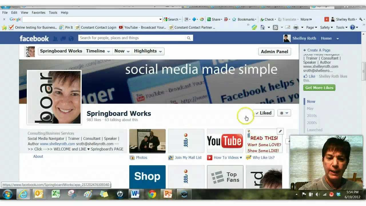 how to add more tabs on facebook page