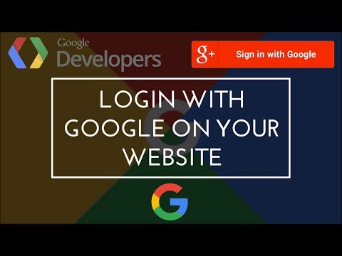 How To Login With Google On Your Website | Google API Integration | Login With Google