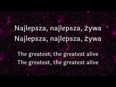 Sia   The greatest  [TEKST PL, NAPISY PL]