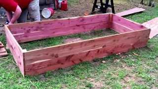 Building Cedar Raised Garden Beds 2.0