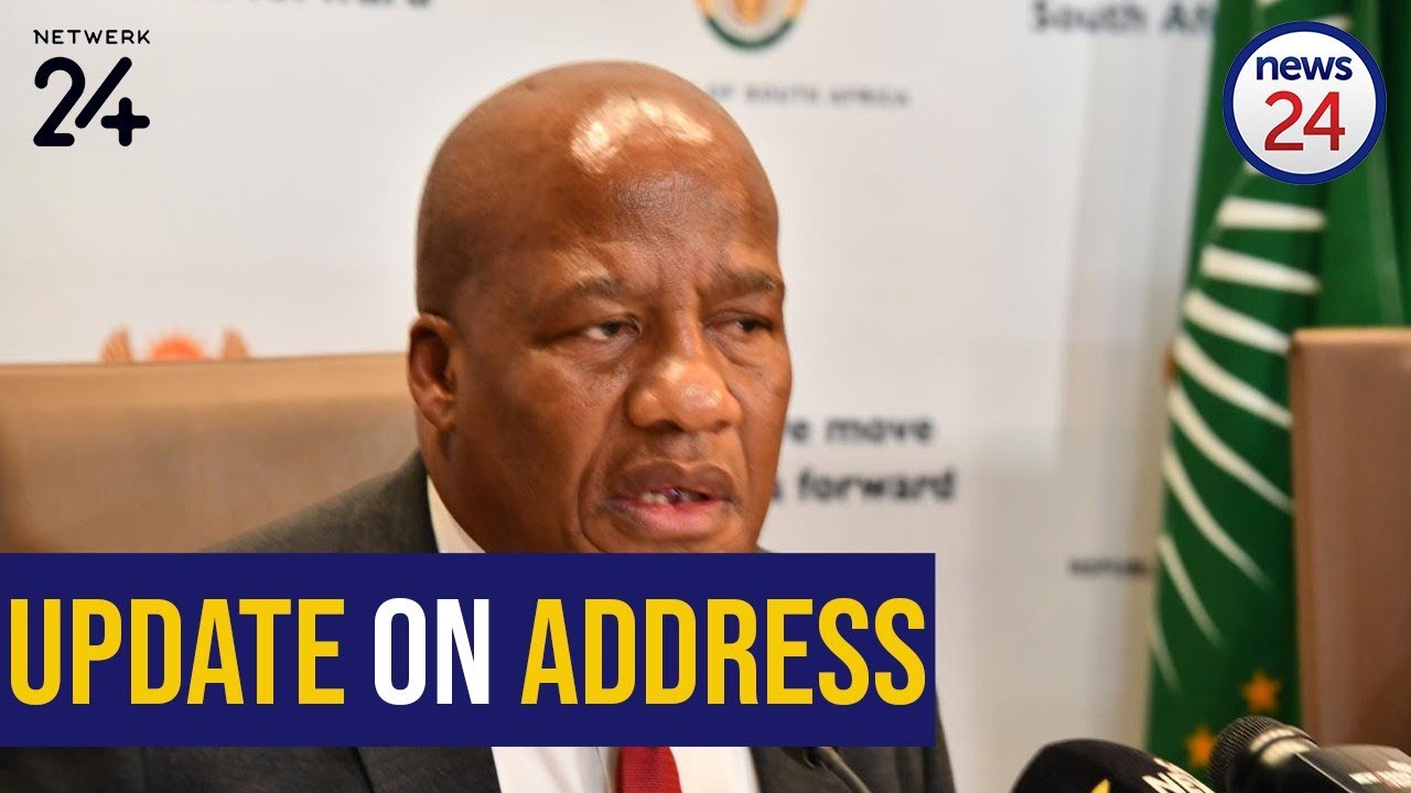 WATCH LIVE | President to address nation on Monday, not Sunday as initially expected - News24
