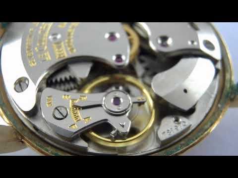 Lecoultre Wrist alarm watch movement cal.489/1 running.