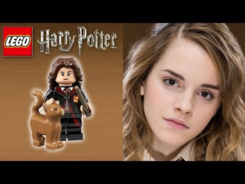Lego Harry Potter Vs Real Movie Characters