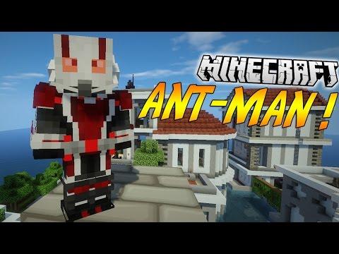 """DEVIENS ANT-MAN DANS MINECRAFT !   Présentation du mod """"ANT-MAN""""! - [1.7.10]"""