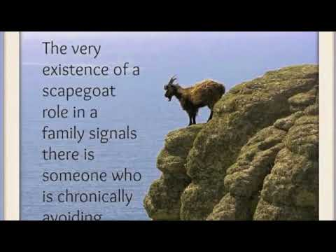 Narcissist Offspring The Role of a LIfetime Scapegoat