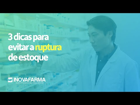 Imagem vídeo 3 Dicas para DIMINUIR as Rupturas de Estoque nas Vendas da Farmácia