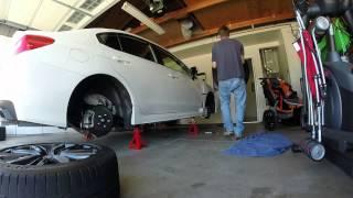 2015 Subaru WRX Limited: Ep. 118: Tire Rotation - 6250 Miles
