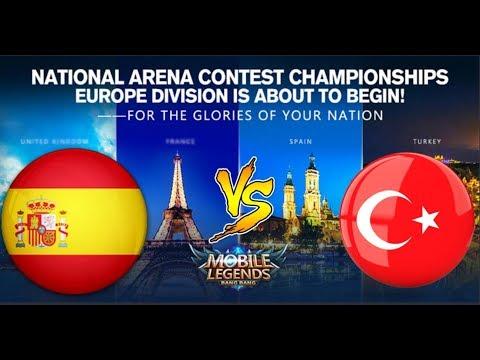 🔴 Spain vs Turkey (İspanya vs Türkiye) 2. Round | National Arena