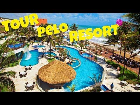 Vlog Ocean Palace #2: TOUR PELO RESORT INTEIRO😱