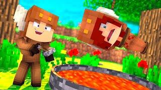 Minecraft Daycare - TROLLING MY GIRLFRIEND FOR 24 HOURS! W/ MOOSECRAFT (Minecraft Kids Roleplay)