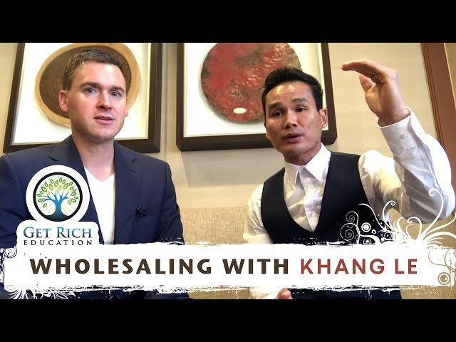 Wholesaling with Khang Le