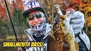 Finesse Fishing Smallmouth Bass in the Upper Midwest