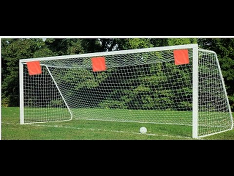 cca8b2dad Soccer Goal Shooting Target - YouTube