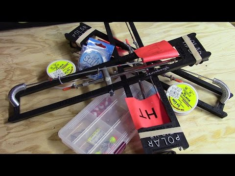 How To Rig An Ice Fishing Tip-Up (OpenWaterTv)