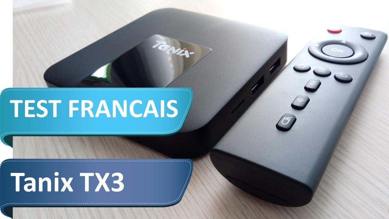 test de la box tv tanix tx3 en fran ais efficace et pas cher youtube. Black Bedroom Furniture Sets. Home Design Ideas