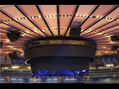 My photos of the madison square garden msg tour youtube - Madison square garden to times square ...