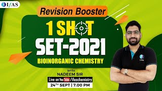 Complete Revision Of Coordination Part-II \u0026 Bioinorganic Chemistry For SET-2021 Exam