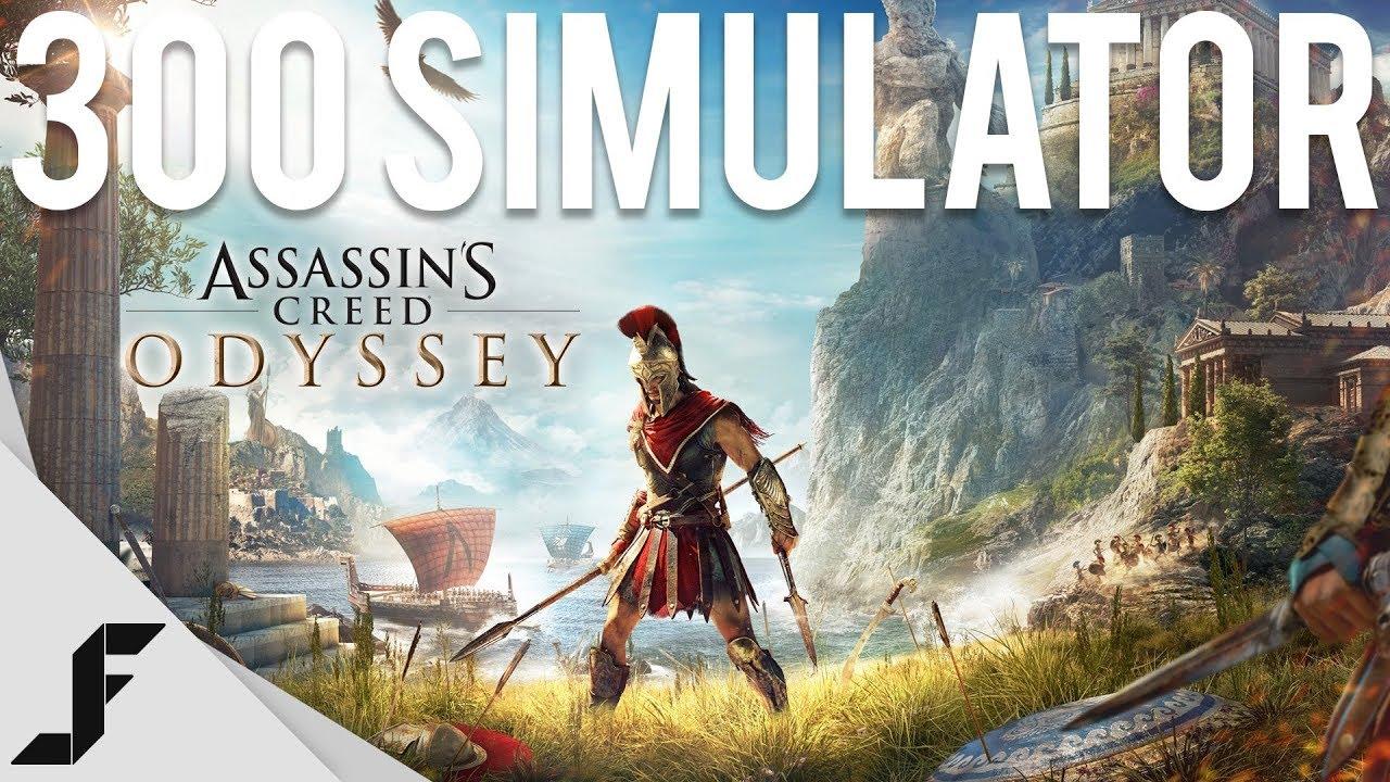 300 Simulator - Assassin's Creed Odyssey Gameplay
