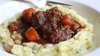 Beef & Guinness Stew - St. Patrick's Day Special - Beef Stewed In Guinness Beer