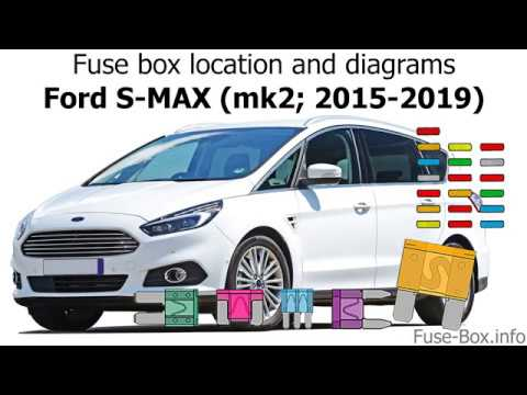 Fuse box location and diagrams: Ford S-MAX / Galaxy (2015-2019) - YouTube | Ford S Max Central Fuse Box |  | YouTube