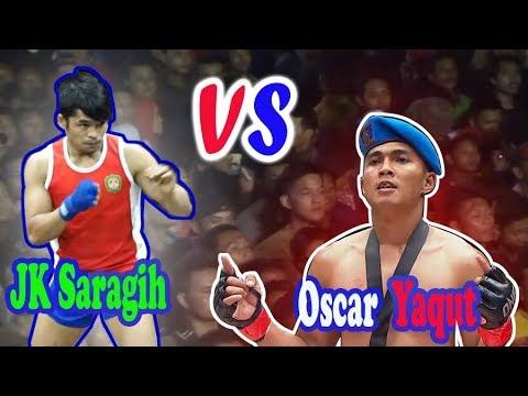 Pencak Dor || JK Saragih One Pride Sparing Dengan Oscar Yaqut One Champions || Jos Ramene