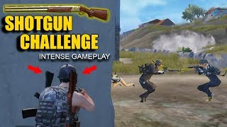 Shotgun Only Challenge Intense Duo vs Squads Gameplay - With Sneak Gaming