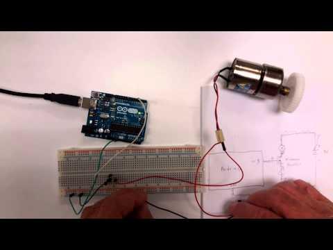 Arduino Tut#16 - DC Motor Drives, Voltage, Direction, H