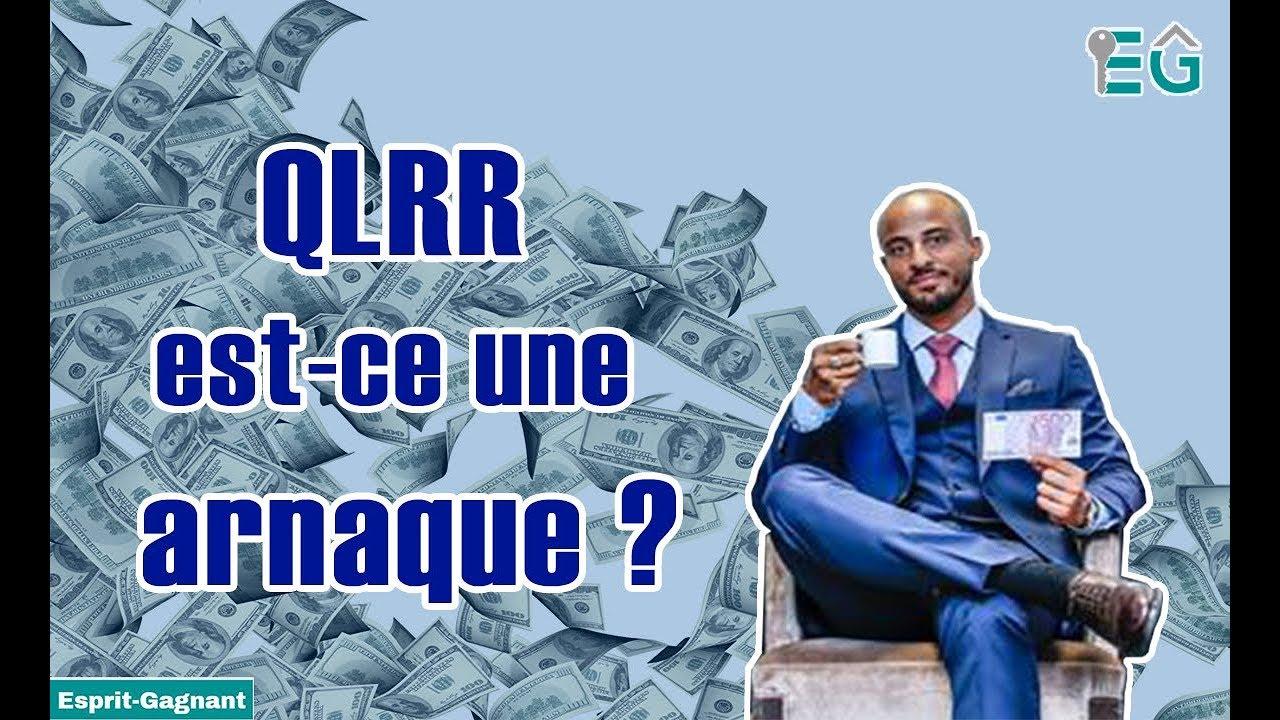 Cédric Annicette  - QLRR Est ce une arnaque ?