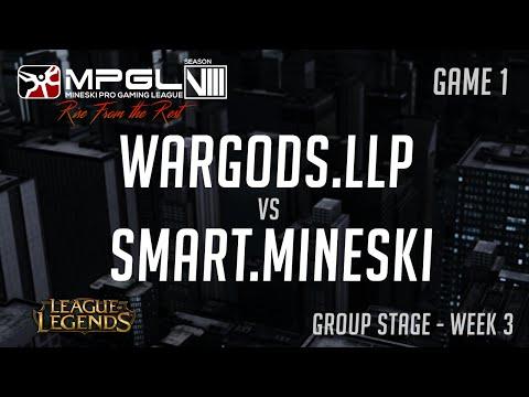 Smart.Mineski vs Wargods.LLP - Mineski Pro Gaming League S8 LoL - Game 1 - [Week 3]