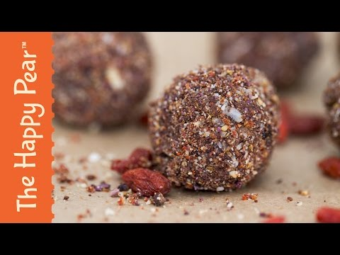 How to make Superfood Protein Balls - The Happy Pear