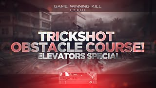 TRICKSHOT OBSTACLE COURSE! #1 - MW2 Out of the Map Trickshotting!