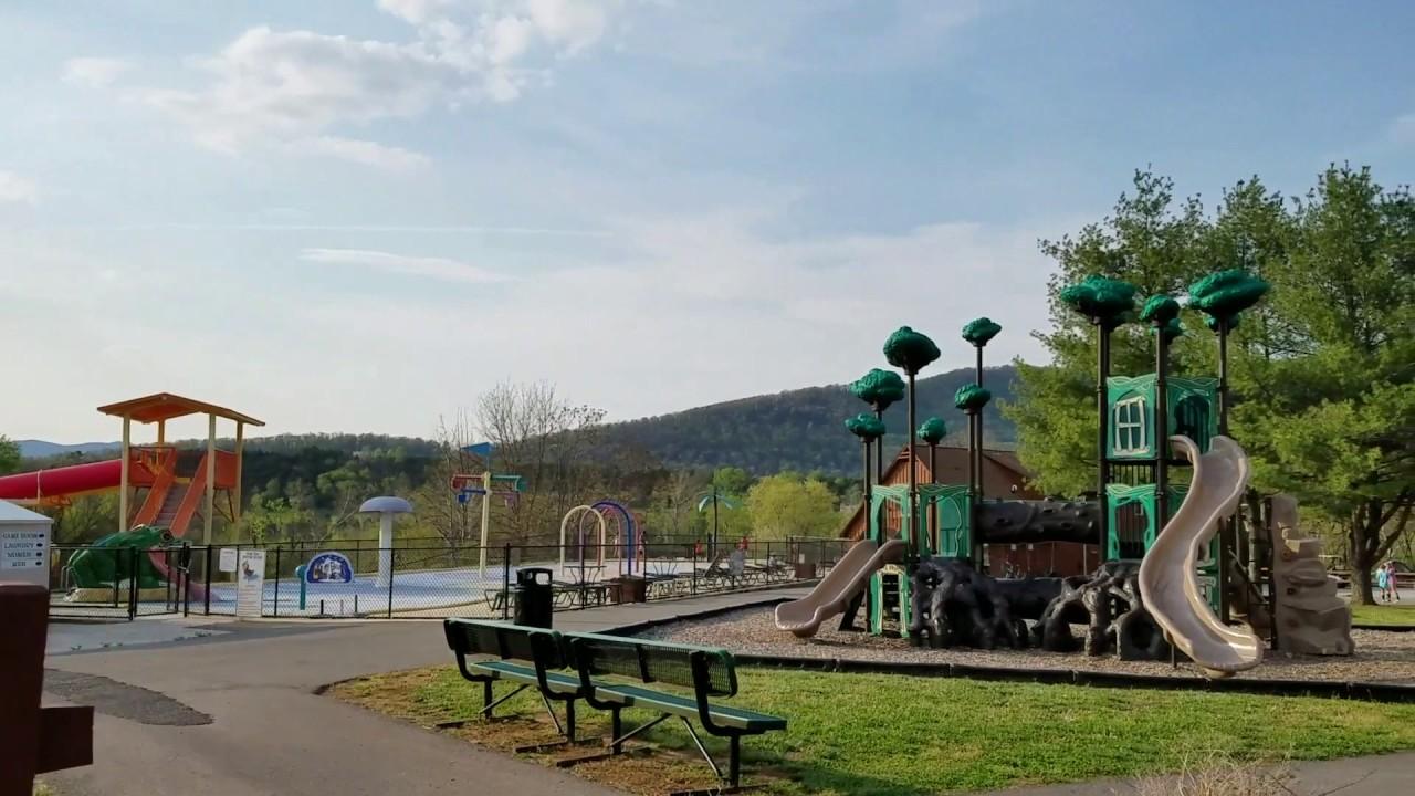 Review Of Yogi Bears Jellystone Park At Natural Bridge Virginia Youtube
