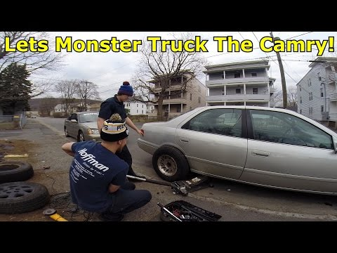 Transforming Camry Into Monster Truck