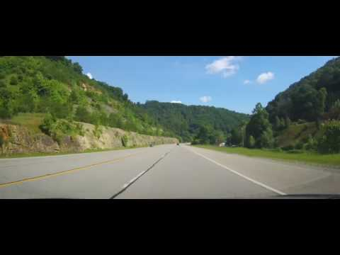 Driving on US 23 across entire state of Kentucky
