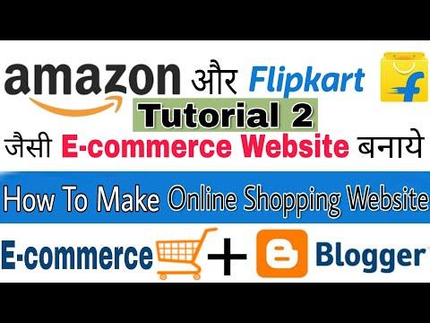 How To Make Shopping Website | How To Create E-commerce Website | Tutorial 2 | G.K thumbnail