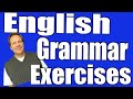 English Grammar Exercises Part 2 | Learn Simple Past and Negative Sentences!