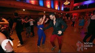 Sergio Timbachata & Ana - Salsa social dancing   Grazy Salsa Festival 2018