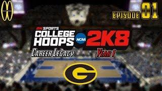 MWG -- College Hoops 2K8 -- Career Legacy, Episode 1